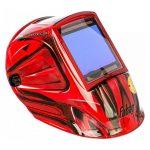 Маска сварщика хамелеон с регулируемым  фильтром ULTIMA 5-13 Panoramic Red  FUBAG