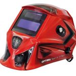 Маска сварщика хамелеон с регулирующимся  фильтром OPTIMA 9.13  RED FUBAG