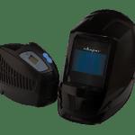 Маска  сварщика (щиток сварщика защитный лицевой) AS-4001F с устройством подачи воздуха Р-1000