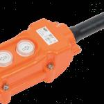 Пост кнопочный ПКТ-61 на 2 кнопки I P54 ABS-пластик iEK