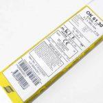 Электроды ЕSAB ОК 61.30 д.3,2 мм (4,1кг=111шт) по нержавейке цена за 1шт.